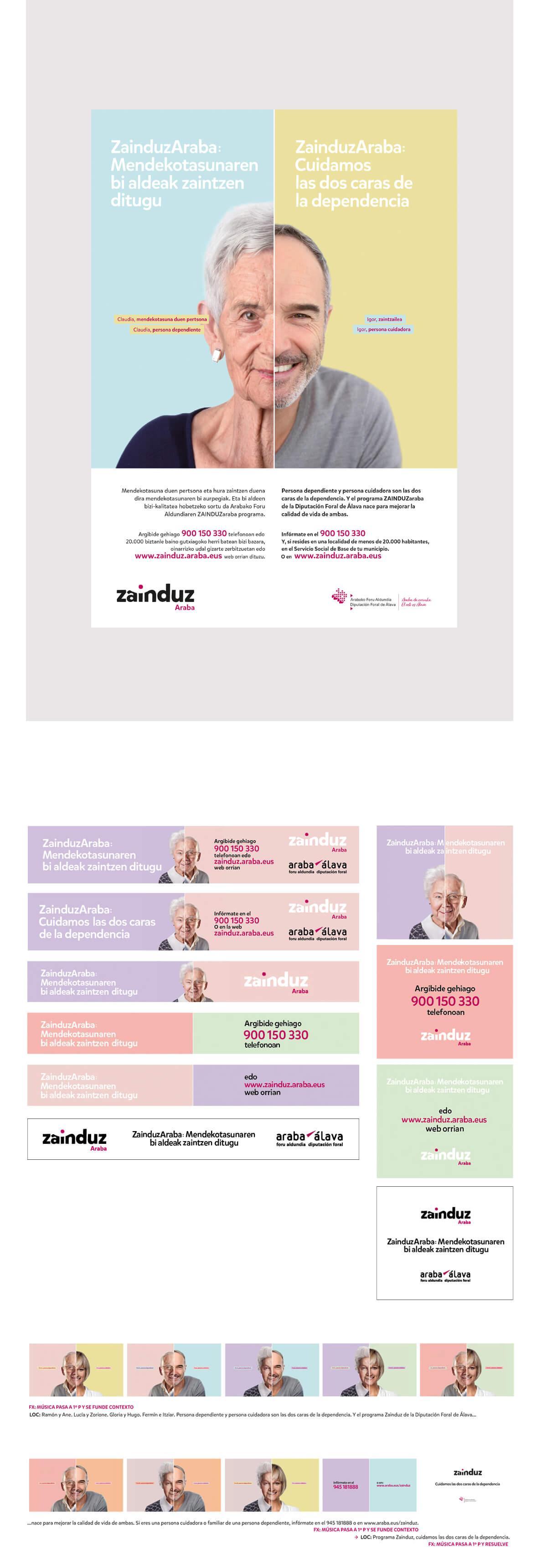 Campaña de Comunicación 360º, zainduz 03
