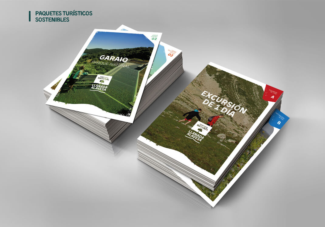 recursos turísticos - folletería