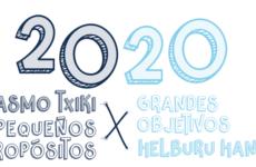 20 PEQUEÑOS PROPÓSITOS Vs 20 GRANDES OBJETIVOS
