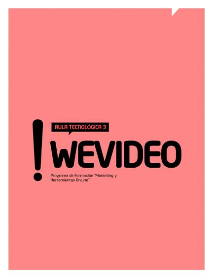 Aula Tecnológica 3: Wevideo