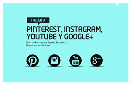 Taller 3: Pinterest, Instagram, Youtube y Google+