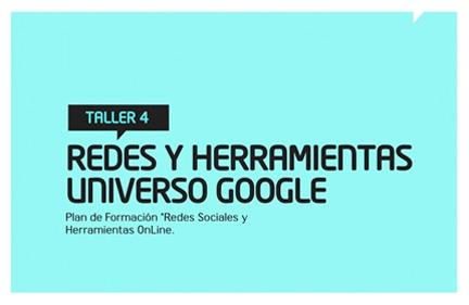 Taller 4: Redes y herramientas universo Google